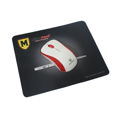 MICROPACK Wireless Mouse [MP-766W] - White/Red - Mouse Basic
